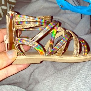 Gladiator Sandals size 5T